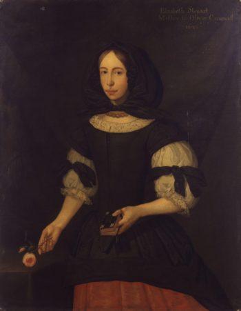 Elizabeth Cromwell nae Steward | S.J. Dagy | oil painting