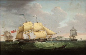 The Ship Harriet Signalling for a Pilot off Dover | S. D. Skillett | oil painting