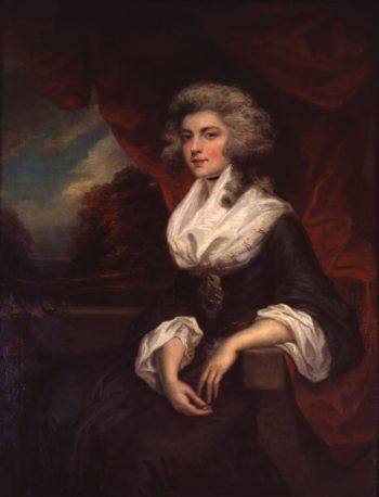 Elizabeth Hervey Duchess of Devonshire | John Westbrooke Chandler | oil painting