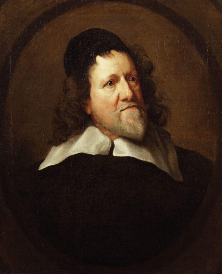 Inigo Jones | Sir Anthony Van Dyck | oil painting