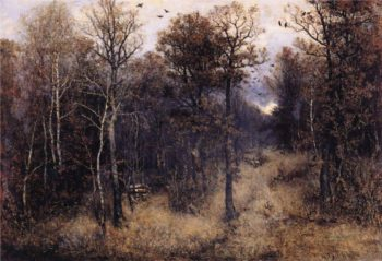From the Webicht near Weimar | Karl Buchholz | oil painting