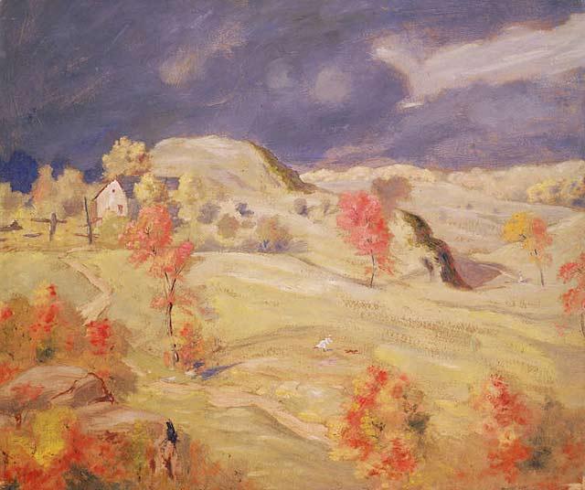 Approaching Storm   Louis M Eilshemius   oil painting