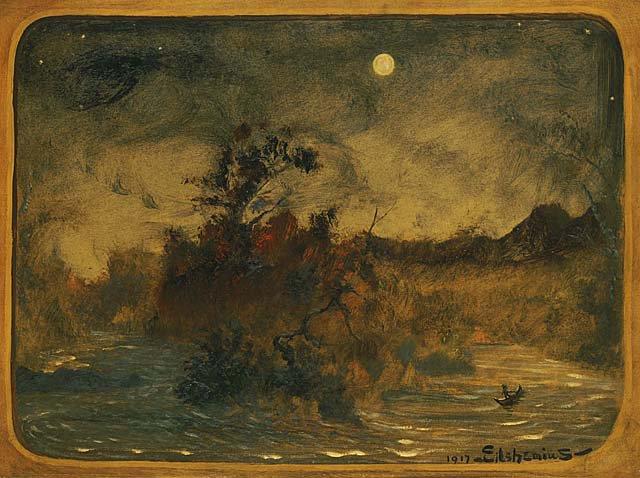 The Dream | Louis M Eilshemius | oil painting