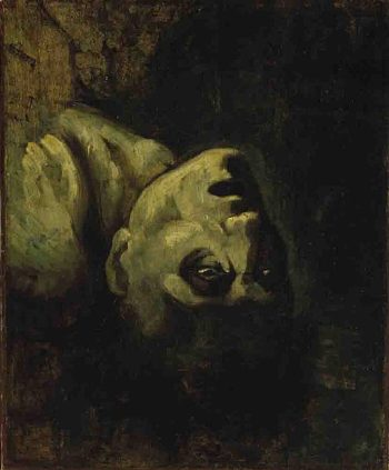 Head of a Drowned Man | Theoodore Gericault | oil painting