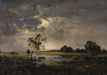 Landscape | Theoodore Rousseau | oil painting