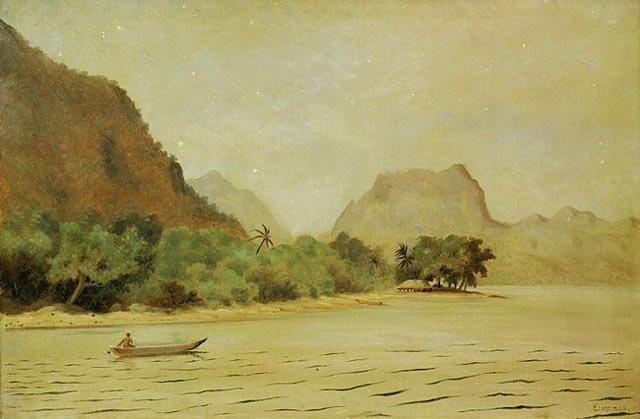 Twilight   Louis M Eilshemius   oil painting