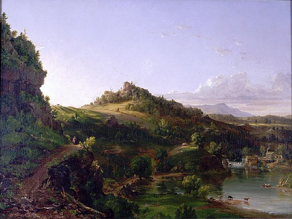 Catskill Scenery | Thomas Cole | oil painting