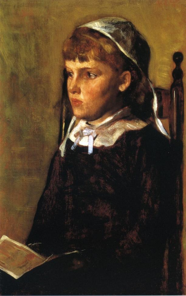 Antoinette | Thomas Wilmer Dewing | oil painting