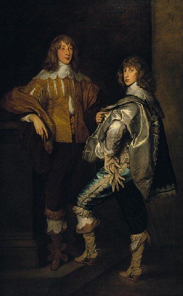 Lords John and Bernard Stuart | Thomas Gainsborough | oil painting