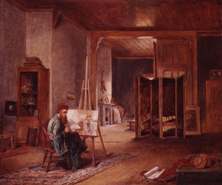 William Holman Hunt | John Ballantyne | oil painting