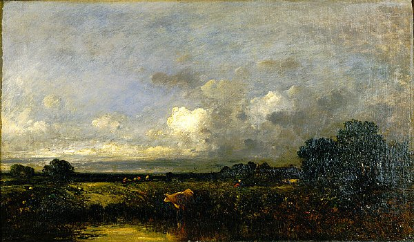 Landscape with Cow | Jules Dupre | oil painting