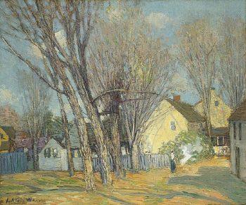 Windham Village | Julian Alden Weir | oil painting