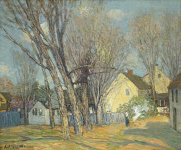 Windham Village | Julian Alden Weir | oil painting