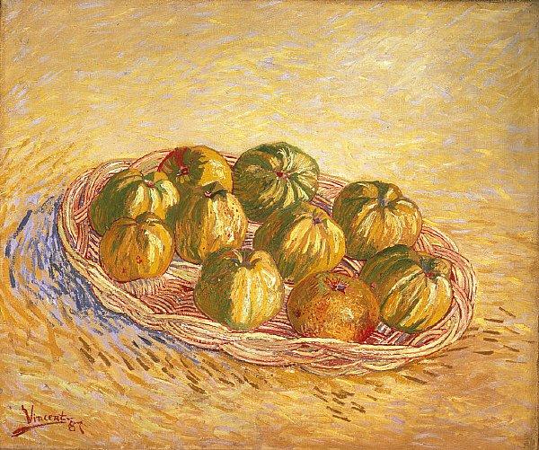 Still Life Basket of Apples | Vincent van Gogh | oil painting