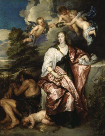 Venetia Lady Digby | Sir Anthony Van Dyck | oil painting