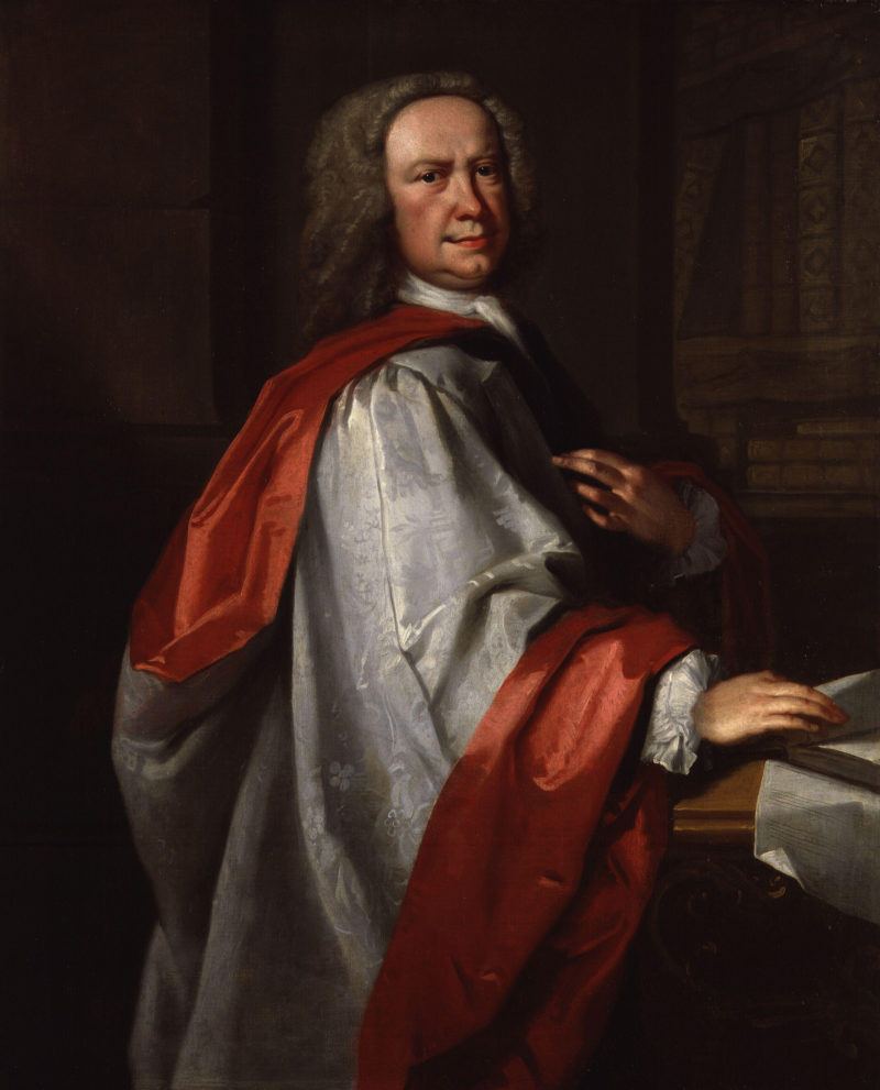 John Christopher Pepusch | Thomas Hudson | oil painting