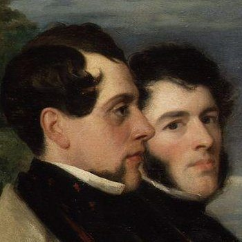 Walter Prideux and John Hollins | Unknown Artist | oil painting