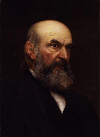 John Couch Adams | Sir Hubert von Herkomer | oil painting
