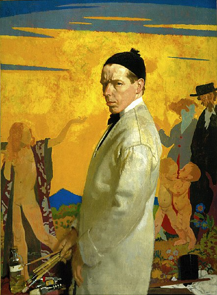 Self Portrait | William Orpen | oil painting