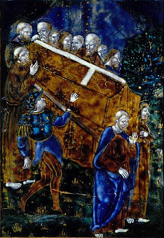Burial of the Virgin | Workshop of Pnicaud | oil painting