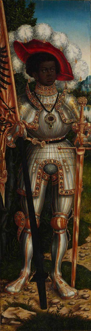 Saint Maurice -  ca 1522 - 25 | Lucas Cranach the Elder | oil painting