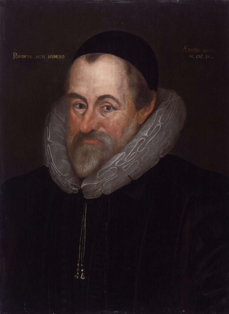 William Camden   Marcus Gheeraerts the Younger   oil painting