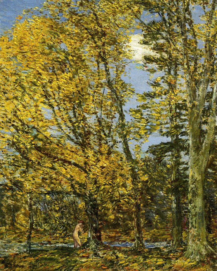 Bather | Frederick Childe Hassam | oil painting
