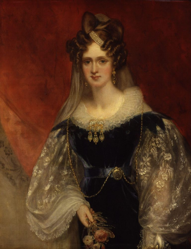 Adelaide Amelia Louisa Theresa Caroline of Saxe Coburg Meiningen | Sir William Beechey | oil painting
