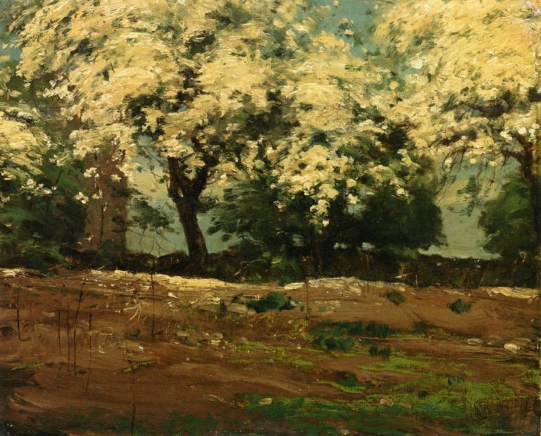 Blossoms | Frederick Childe Hassam | oil painting