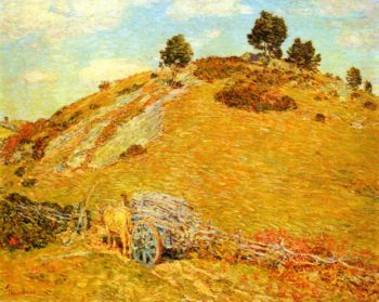 Bornero Hill Old Lyme Connecticut | Frederick Childe Hassam | oil painting