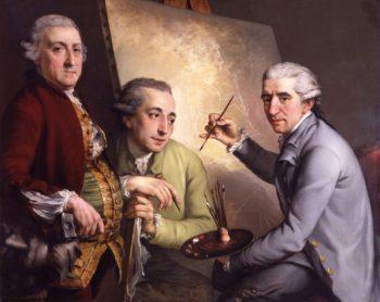 Agostino Carlini Francesco Bartolozzi Giovanni Battista Cipriani | John Francis Rigaud | oil painting