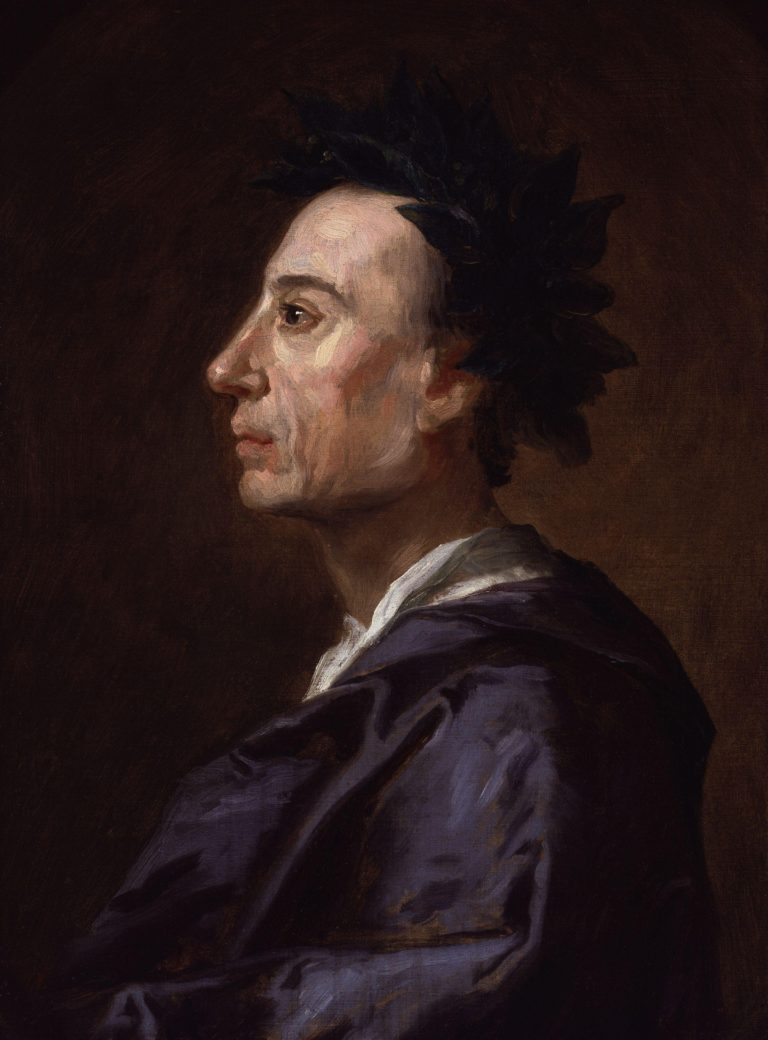 Alexander Pope | Jonathan Richardson | oil painting