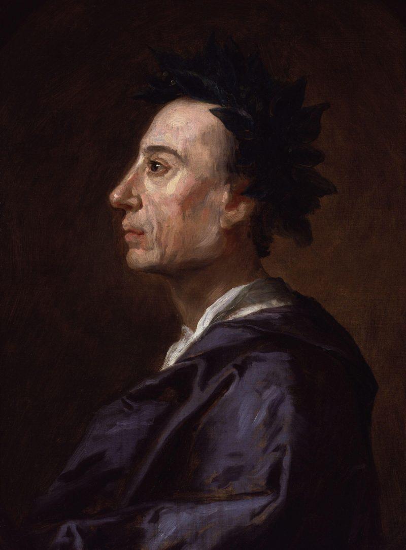 Alexander Pope | Jonathan Richardson | oil painting