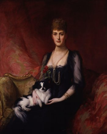 Alexandra of Denmark | Sir Samuel Luke Fildes | oil painting