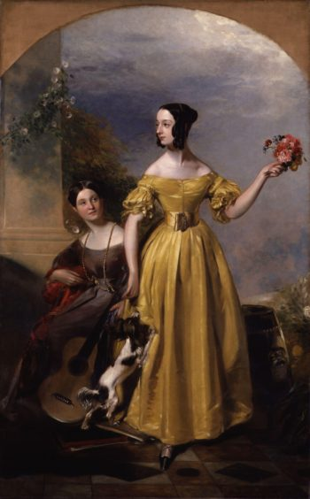Alexina Nesbit Sandford nae Lindsay Catherine Hepburne Lindsay | Andrew Geddes | oil painting