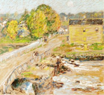 Cos Cob | Frederick Childe Hassam | oil painting