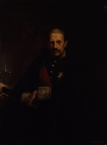 Alfred Milner Viscount Milner | Hugh de Twenebrokes Glazebrook | oil painting
