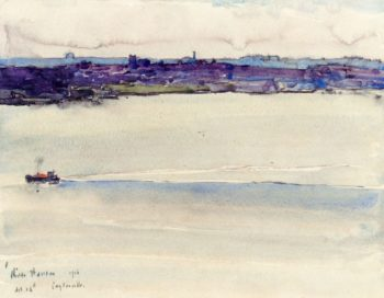 Cotysville | Frederick Childe Hassam | oil painting