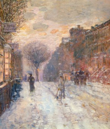 Early Evening, After Snowfall Frederick Childe Hassam