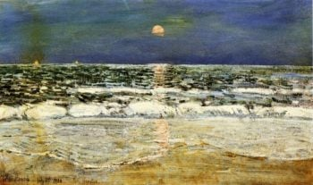 East Hampton1 | Frederick Childe Hassam | oil painting