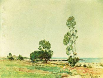 East Hampton | Frederick Childe Hassam | oil painting