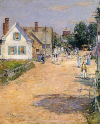 East Gloucester, End of Trolly Line Frederick Childe Hassam