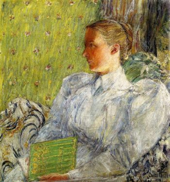 Edith Blaney (Mrs. Dwight Blaney) | Frederick Childe Hassam | oil painting