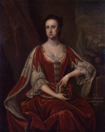 Anne Hatton Countess of Winchilsea | Jonathan Richardson | oil painting