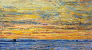 Evening | Frederick Childe Hassam | oil painting
