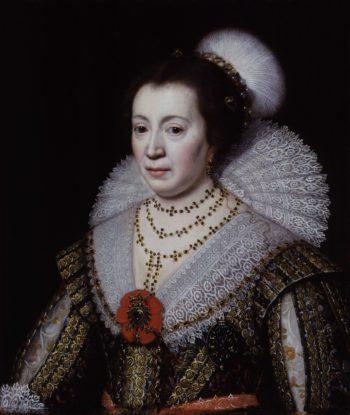 Anne Lady Carleton | Michiel Jansz. van Miereveldt | oil painting