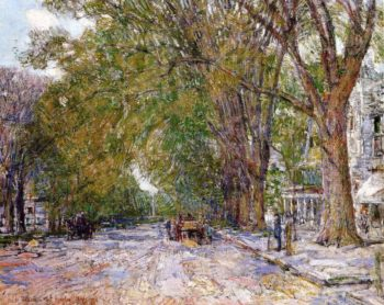 Elms, East Hampton, New York Frederick Childe Hassam