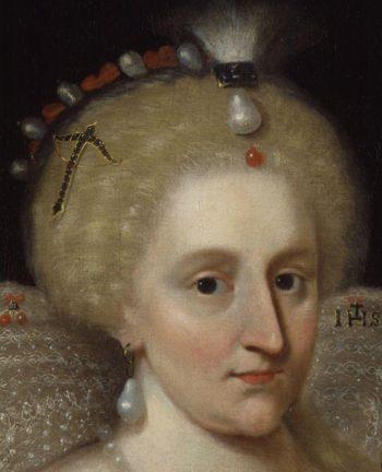 Anne of Denmark | Paul Van Somer | oil painting