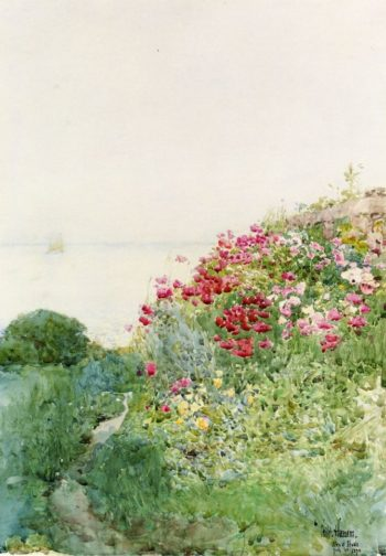 Field of Poppies, Isles of Shaos, Appledore Frederick Childe Hassam