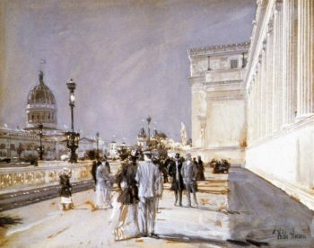 World's Fair, Chicago Frederick Childe Hassam